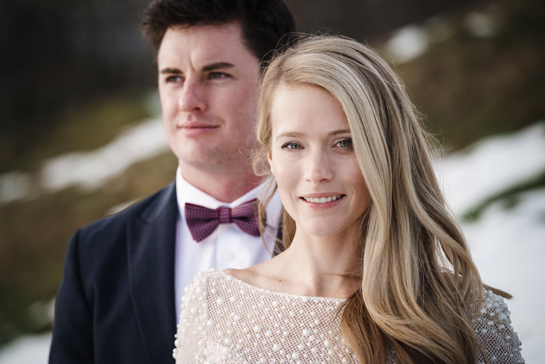 Hochzeit Braut und Bräutigam Paarshooting