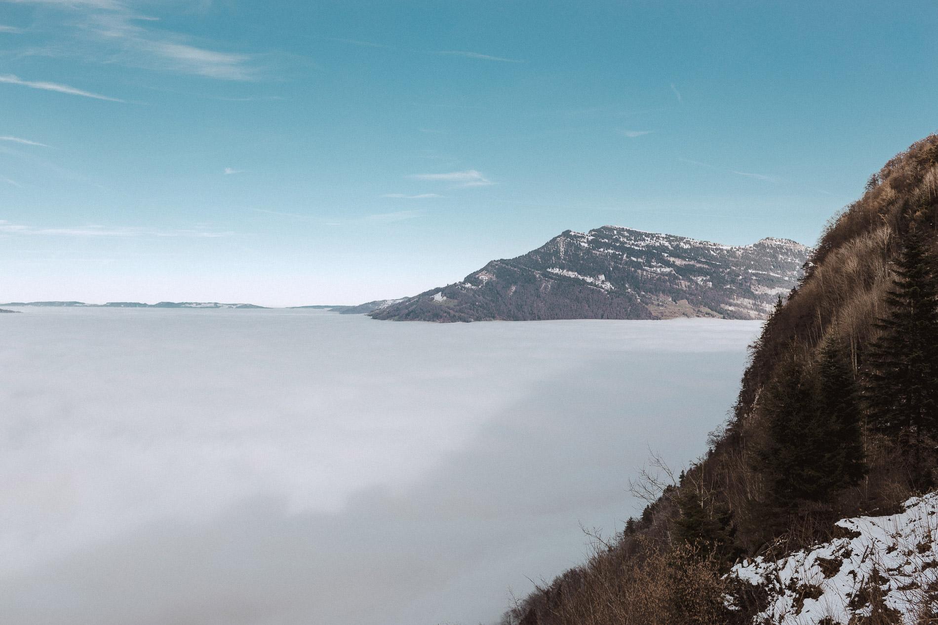 Bürgenstock Hochnebel Rigi PIlatus