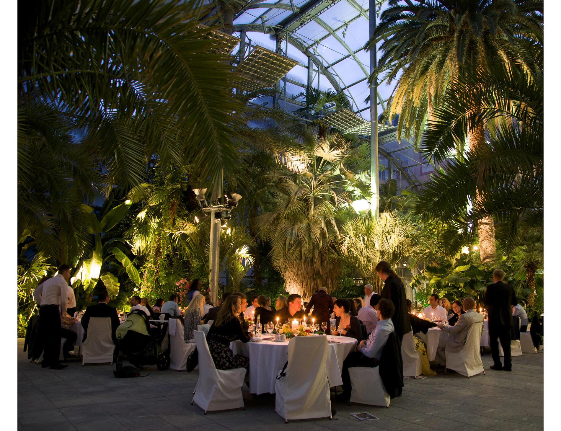 Hochzeit Dinner Insel Mainau